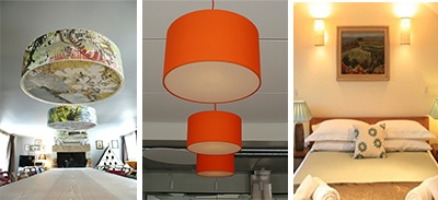 multi lampshades photo