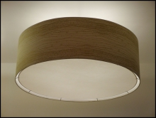 large diameter drum luminaire